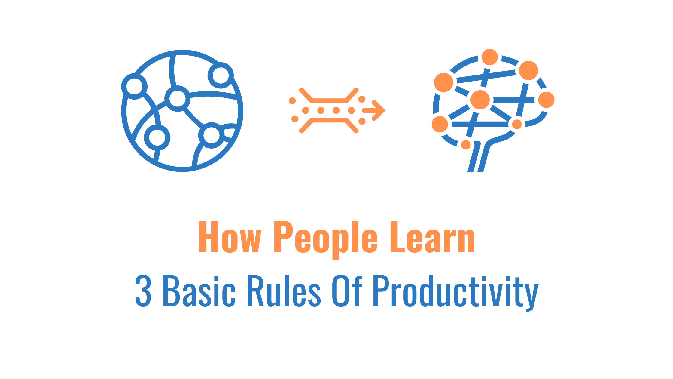 3 Basic Rules Of Productivity Cover